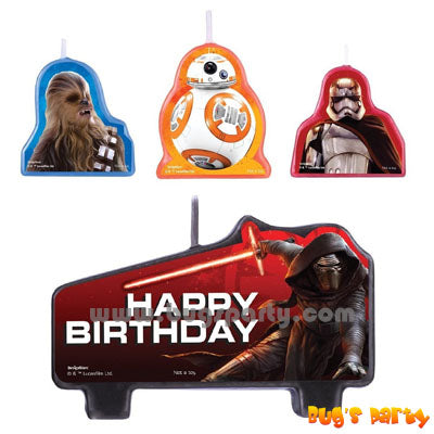 Star Wars Cake Candles set