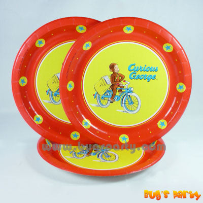 Curious George Plates
