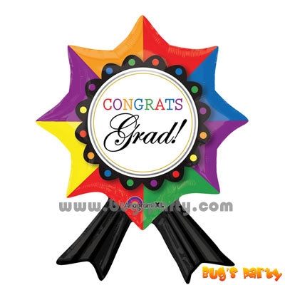 Balloon Congrats Grad Ribbon