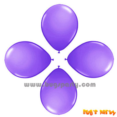 Balloon 6in Rnd Lilac