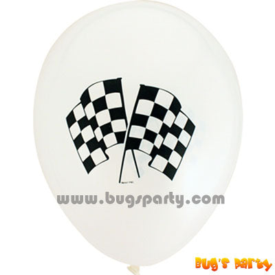 Balloon Lx Chequered Flag
