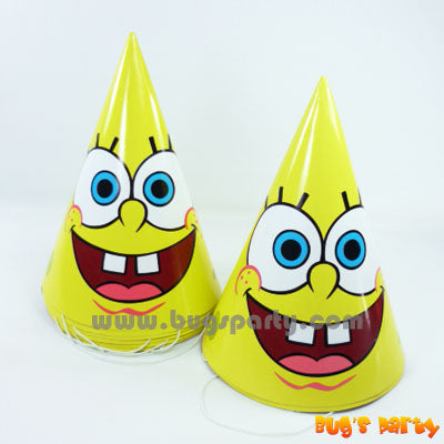 Spongebob Party Hats