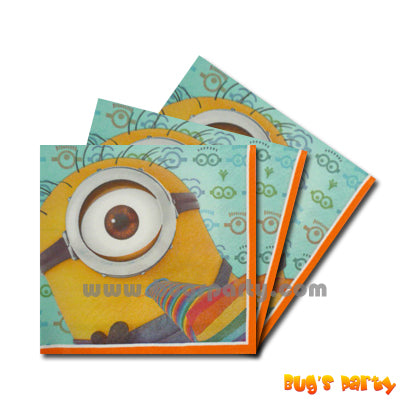 Despicable Me Napkins
