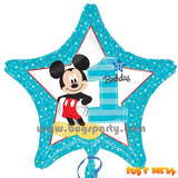 Mickey 1st Star Balloon