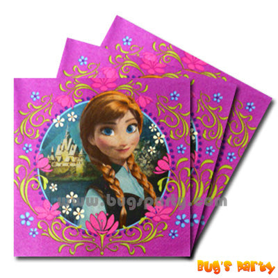 Disney Frozen L Napkins