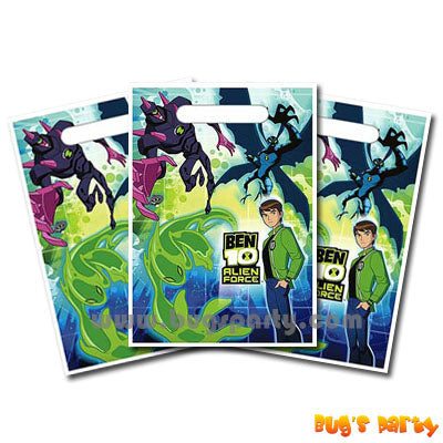 Ben 10 Treat Sacks