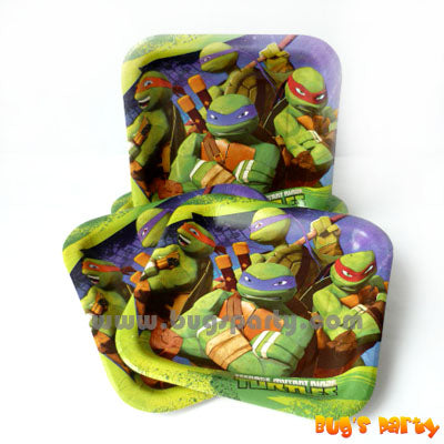 TM Ninja Turtles Plates