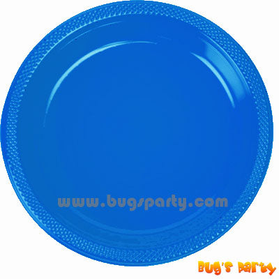 Blue Color Plastic Plates