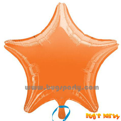 Balloon Star Orange