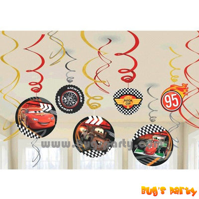 Disney Cars Formula Swirls