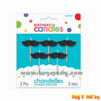 Candle Pick Mustache