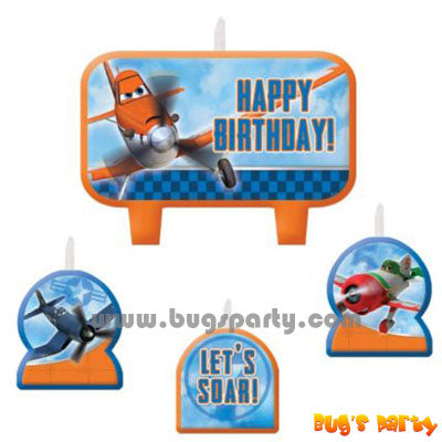 Disney Planes Candles Set