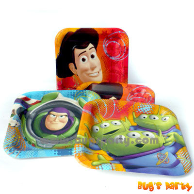 Toy Story Sq Plates