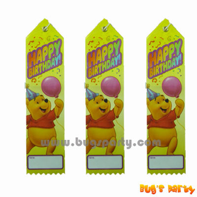 Pooh Award Ribbon