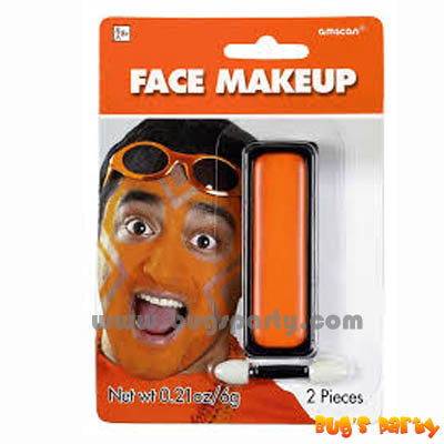 Face Makeup Orange