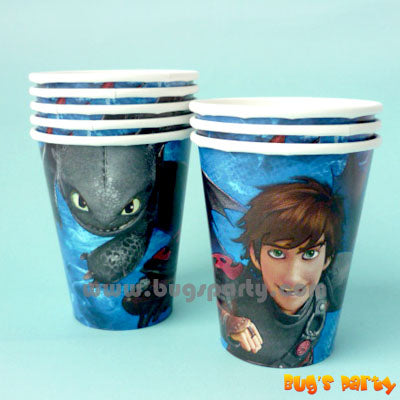 How To Train Your Dragon Cups