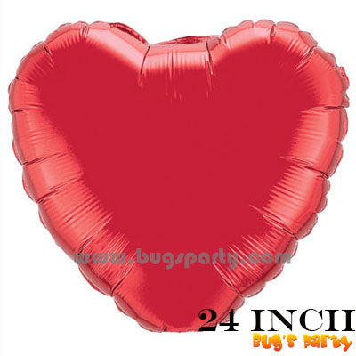 Balloon Heart Red