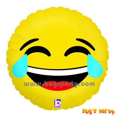 Smiley Crying Laughing Balloon
