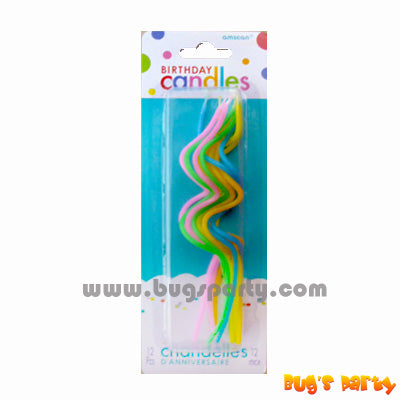 Skinny Coil candles