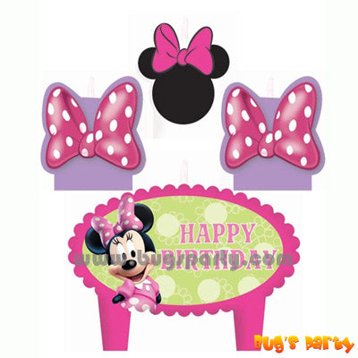 Minnie Candles Set