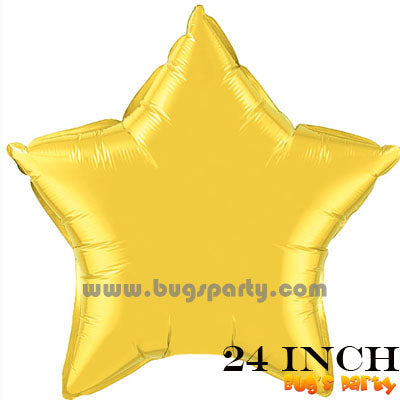 Balloon Star Gold