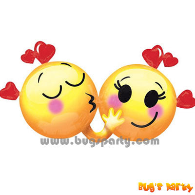 Emoji In Love Balloon