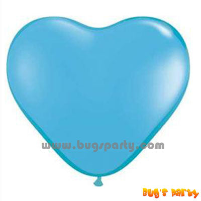 Balloon Latex Baby Blue Hrt