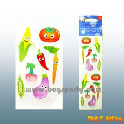 Stickers Cutie Vegetables