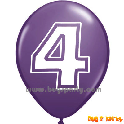 Balloon Lx Number 4