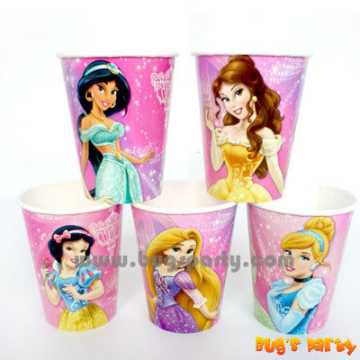 Disney Princess 9oz Cups