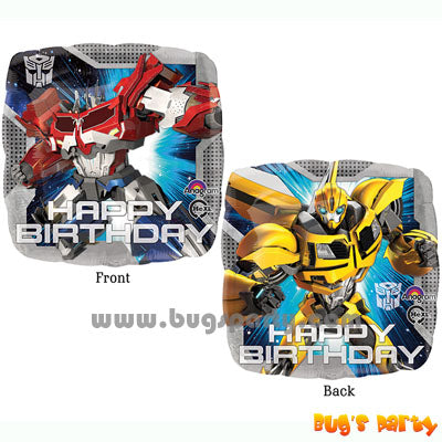 Transformers Core Bday Balloons