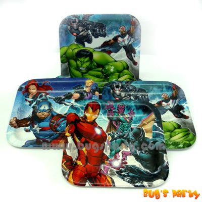 Avengers Epic 7in Plates