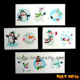 Christmas Fun Temp Tattoos