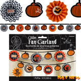 Halloween Fan Garland