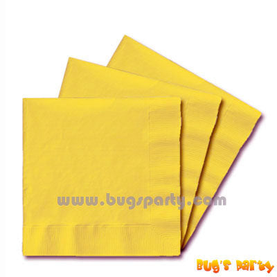 Yellow Sunshine paper Napkins