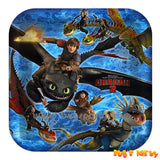 How To Train Your Dragon 9in Plates
