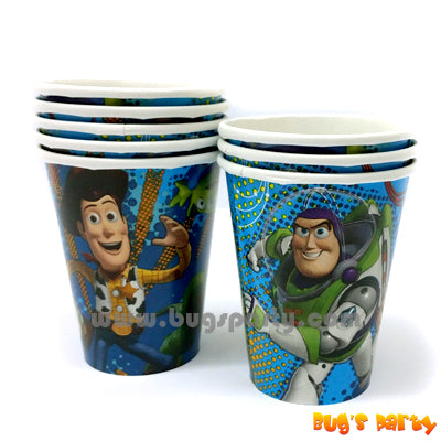 Toy Story Paper Cups