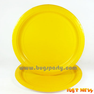 Yellow Sunshine paper Plates