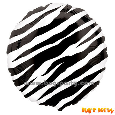 Animal Zebra Balloons