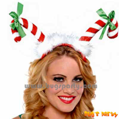 Christmas Candy Cane Headband