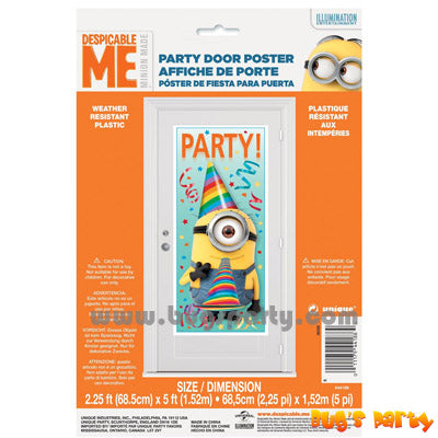 Despicable Me Door Poster