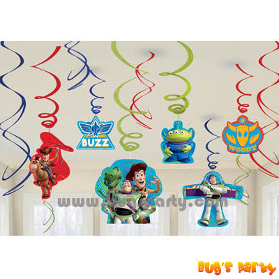Toy Story Swirls Deco