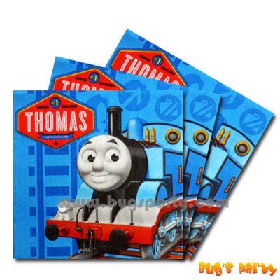 Thomas Blue Napkins