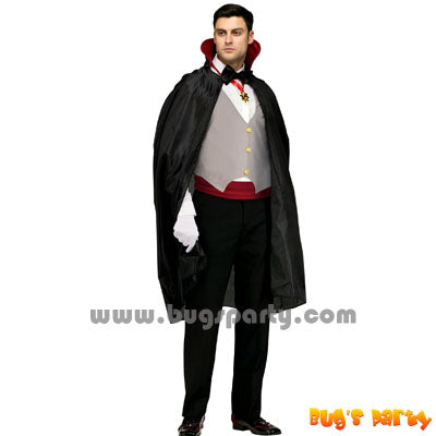 Classic Vampire adult costume for Halloween