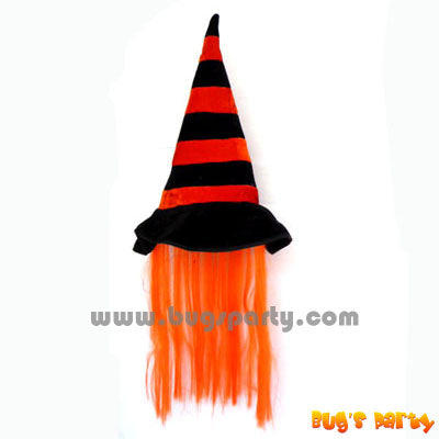 Witch Hat Orange Hair