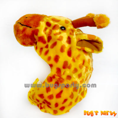 Giraffe plush hat