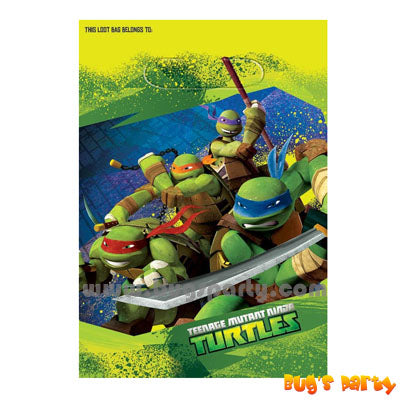TM Ninja Turtles Favor Bags