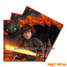 How To Train Your Dragon Napkins