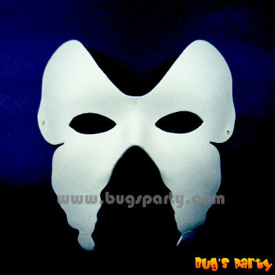 Mask Wht Butterfly