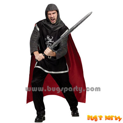 Medieval knight adult costume seems me